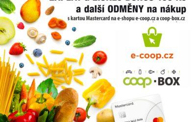 Společnost Mastercard askupinaCOOProzdají odměny prvním zákazníkům nového e-shopu E-COOP.cz